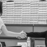 Student-shaking-hands-with-interviewer-during-mock-interview-activity